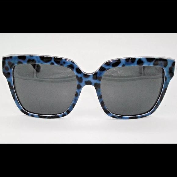 c1efb48420a Blue Leopard Dolce Gabbana Sunglasses